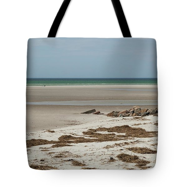 Tote Bag featuring the photograph Solitude By The Seashore by Michelle Wiarda