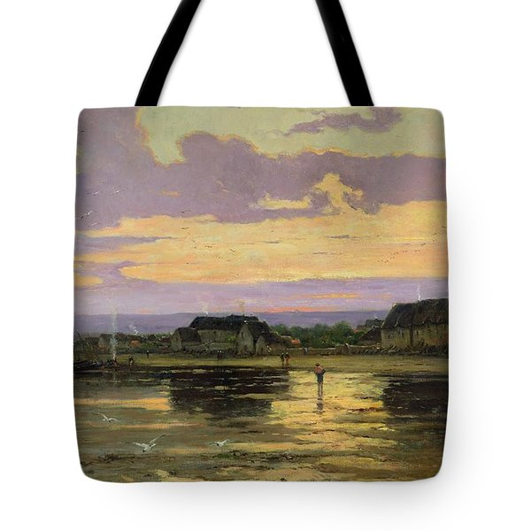 Solitude In The Evening Tote Bag by Marie Joseph Leon Clavel Iwill
