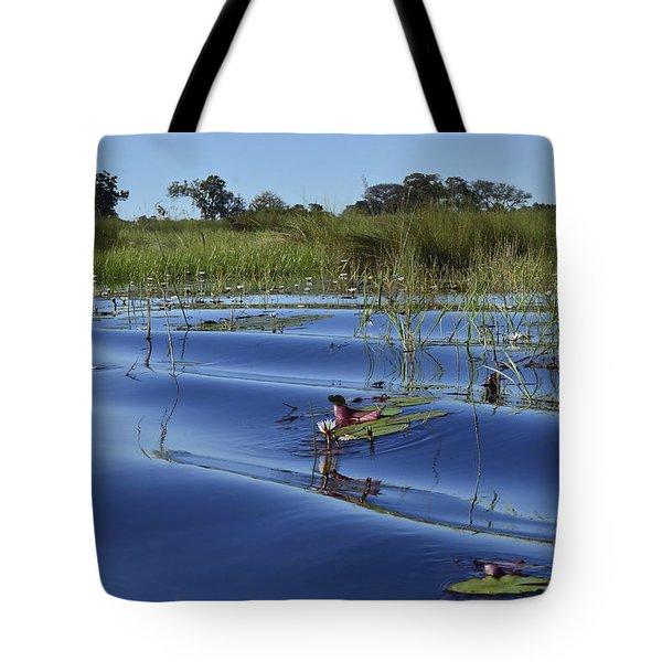 Solitude In The Okavango Tote Bag