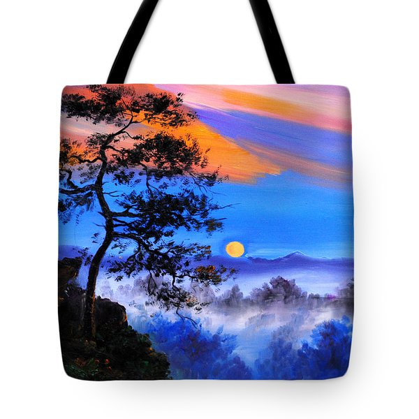 Solitude Tote Bag by Karen Showell