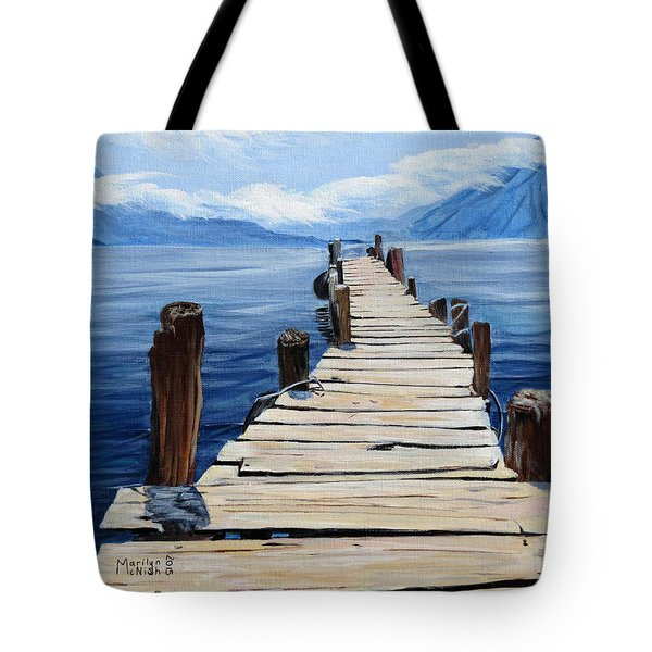 Crooked Dock  Tote Bag