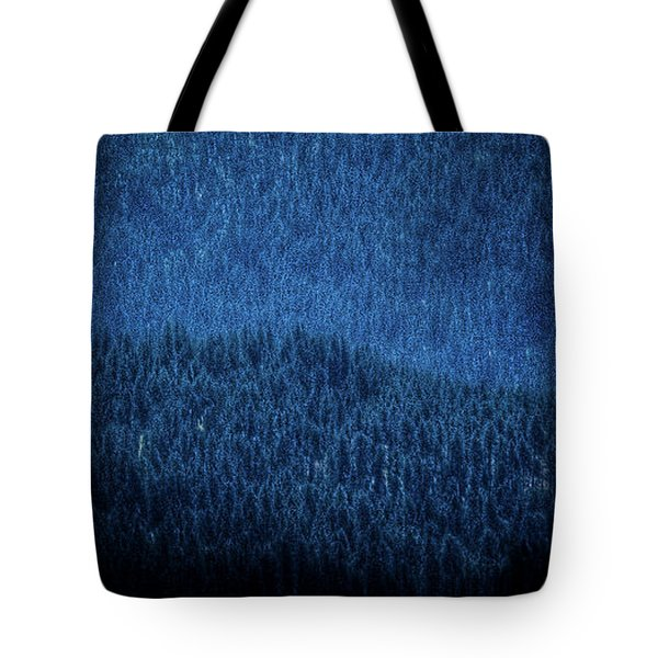 Tote Bag featuring the photograph Solitude On Priest Lake by David Patterson