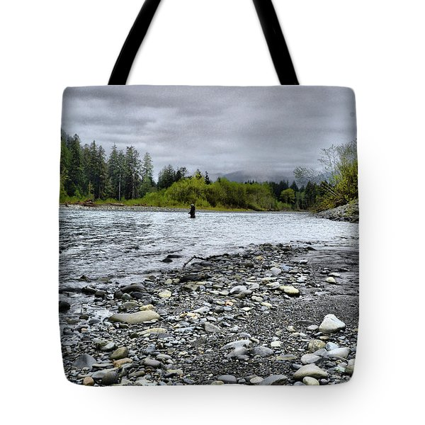 Solitude On The River Tote Bag