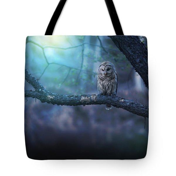 Solitude - Square Tote Bag