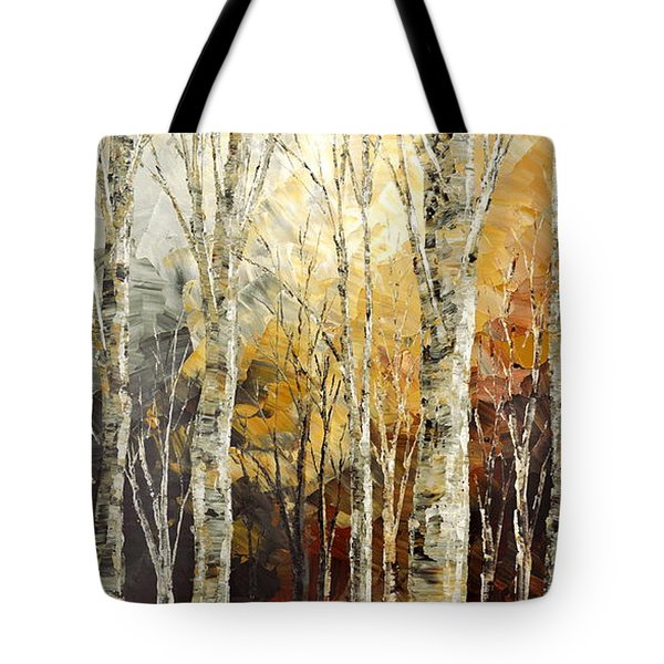 Solitudes Of Twilight Tote Bag