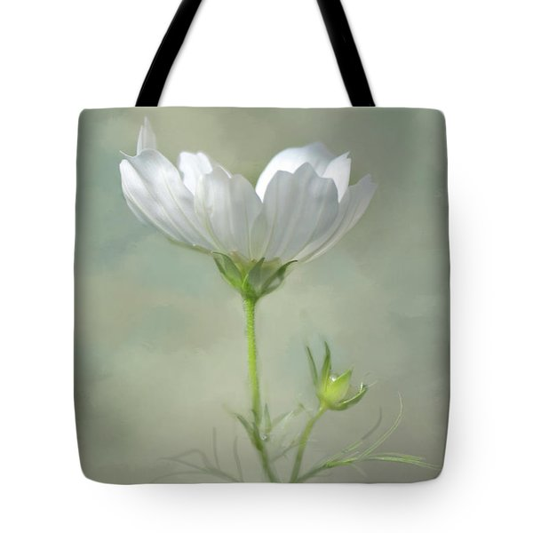 Tote Bag featuring the photograph Solo Cosmo by Ann Bridges