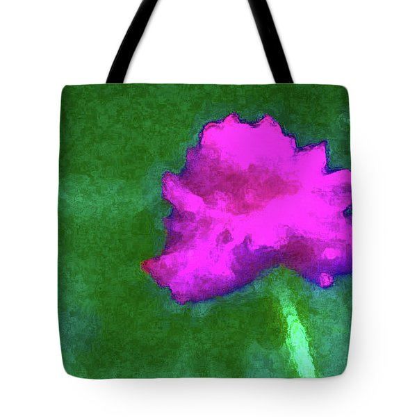 Solo Flower Tote Bag