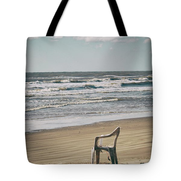 Tote Bag featuring the photograph Solo On The Beach by Charles McKelroy