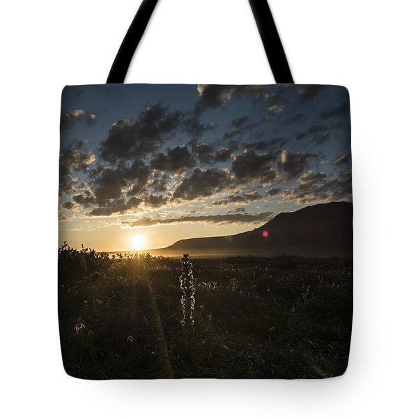 Solstice On The Slope Tote Bag
