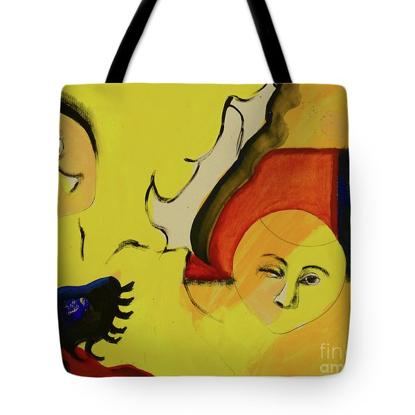 Tote Bag featuring the painting Solstice by Paul McKey