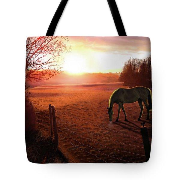 Solstice Sunrise Tote Bag