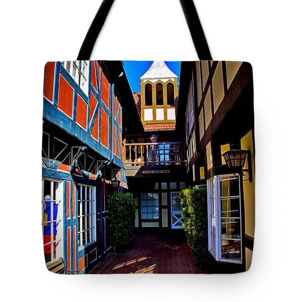 Tote Bag featuring the photograph Solvang California by Joseph Hollingsworth
