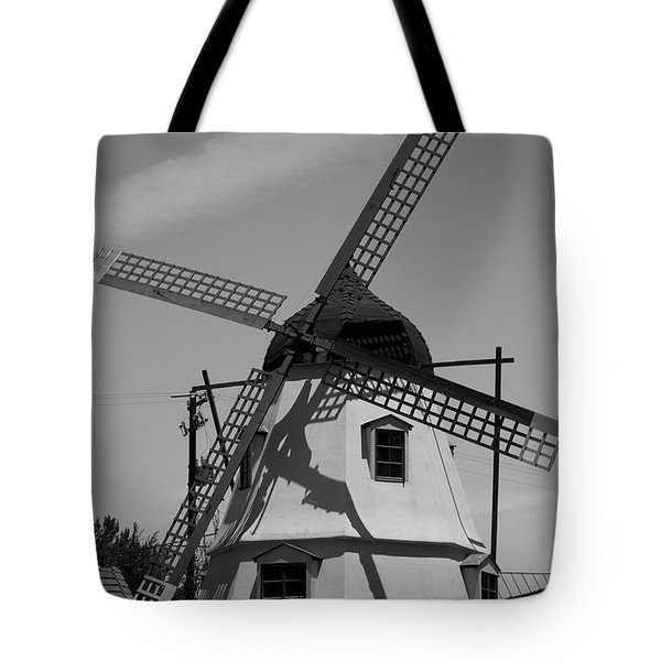 Solvang Windmill Tote Bag
