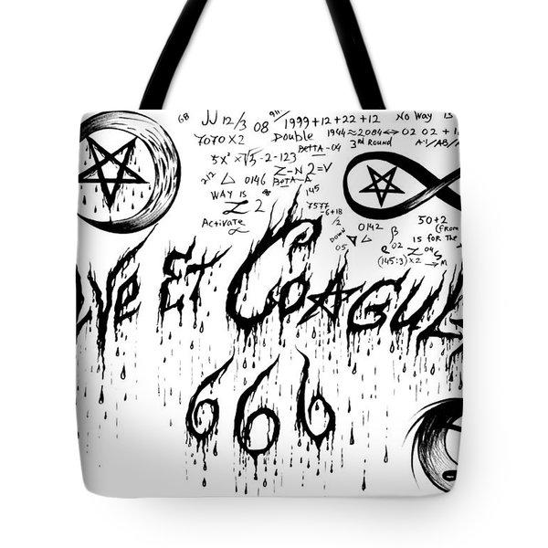 Solve Et Coagula Tote Bag