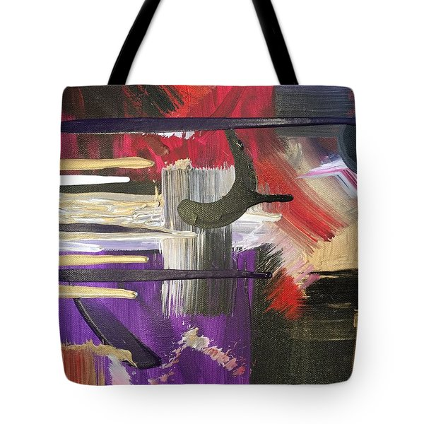 Solvent Cosmo Tote Bag