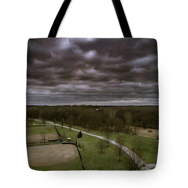 Somber Day Tote Bag
