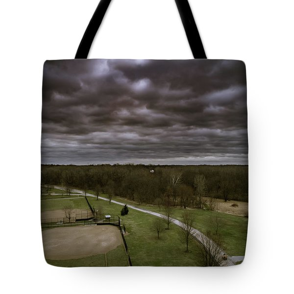 Somber Day Tote Bag