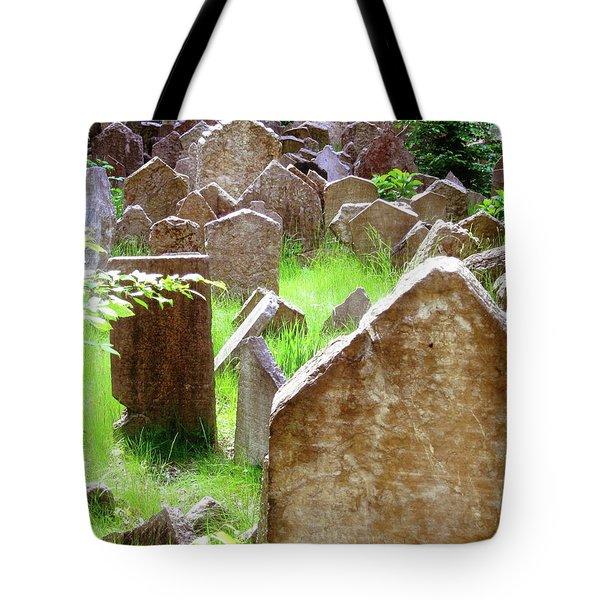 Somber Granite Tote Bag by Patrick Murphy