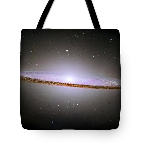 Sombrero Galaxy Tote Bag