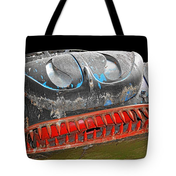 Some Cars Are Born Bad Tote Bag by Christine Till