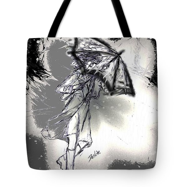Some Days It Just Pays To Stay In Bed Tote Bag by Desline Vitto