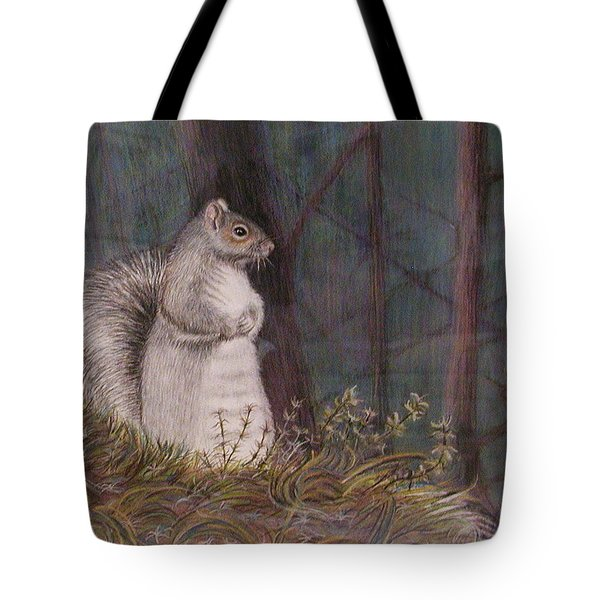 Some Nutty Guy Tote Bag by Martha Ayotte
