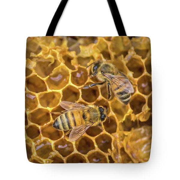 Tote Bag featuring the photograph Some Of Your Beeswax by Bill Pevlor