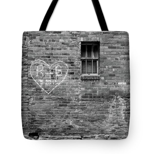 Tote Bag featuring the photograph Somebodie's In Love by Monte Stevens