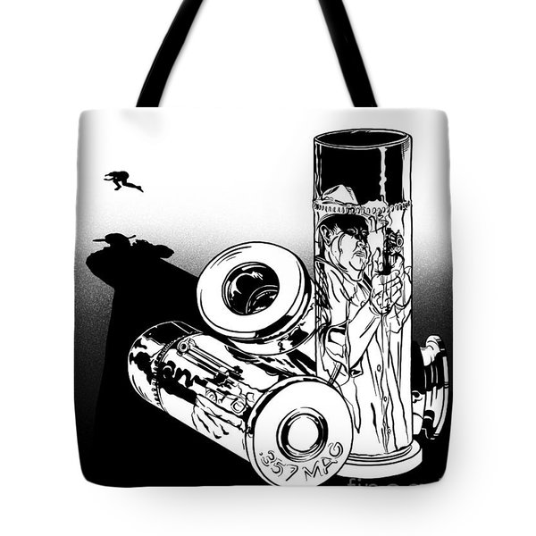 Someone Had To Do Something, And Quick Tote Bag