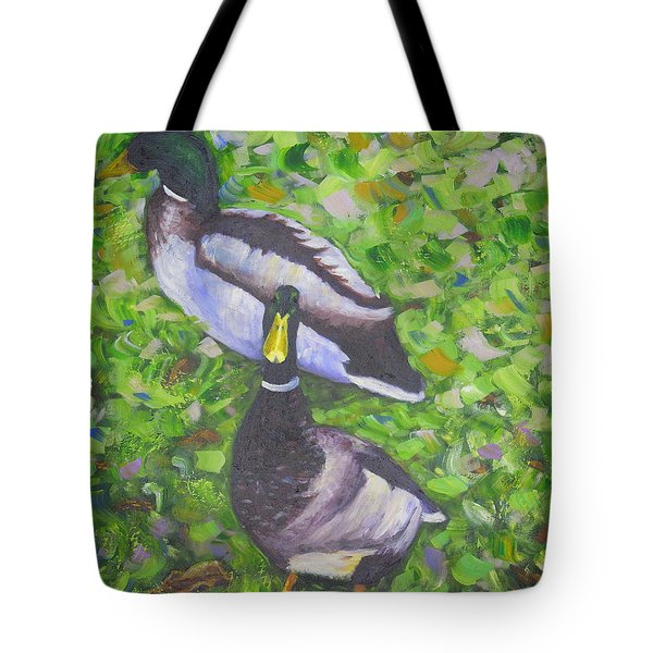 Somerset Ducks Tote Bag