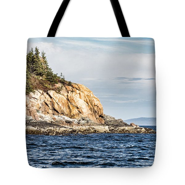 Tote Bag featuring the photograph Somes Sound by Anthony Baatz