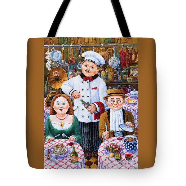 Something About Food 2 Tote Bag