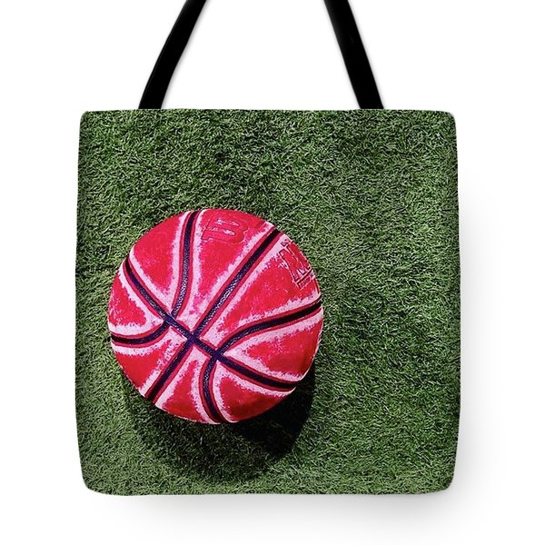 Something About This Bball Catches My Tote Bag