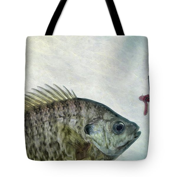 Tote Bag featuring the photograph Something Fishy by Mark Fuller