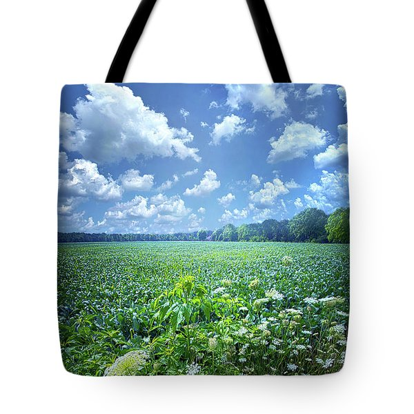 Tote Bag featuring the photograph Something Good In This World by Phil Koch
