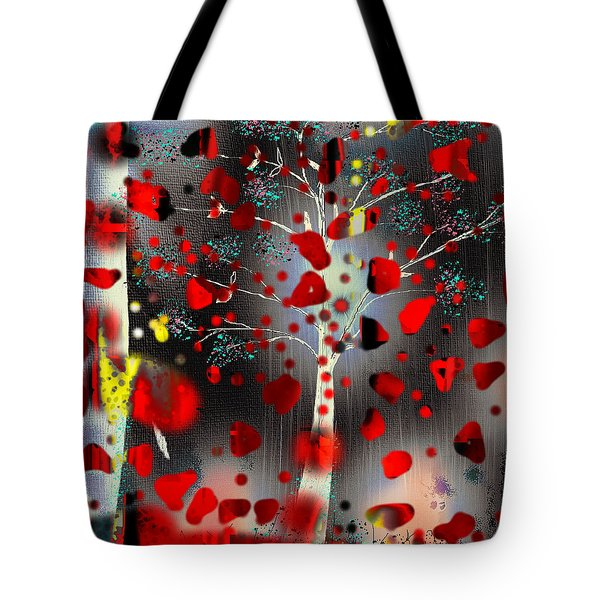 Tote Bag featuring the digital art Lift Me Up by Yul Olaivar