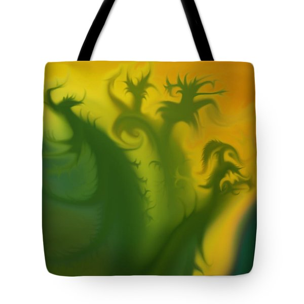 Something Green Tote Bag
