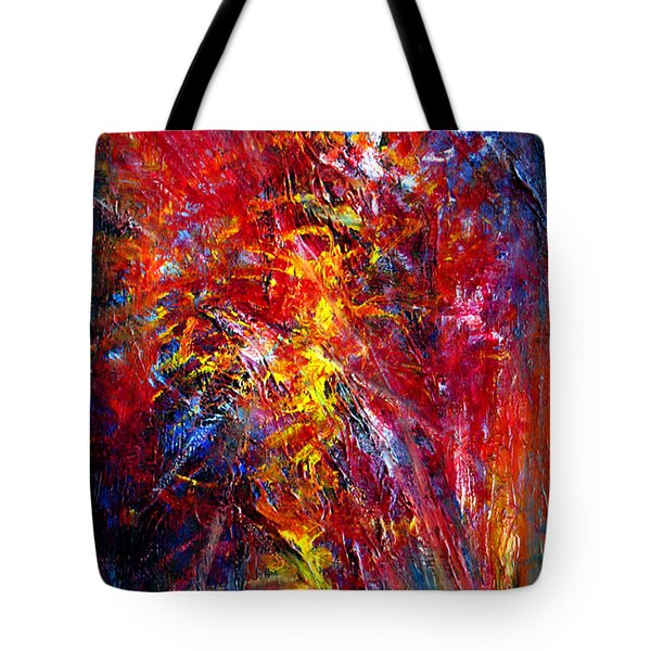 Something II Tote Bag by Wojtek Kowalski