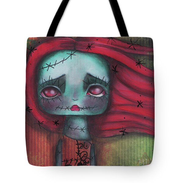 Something In The Wind Tote Bag by Abril Andrade Griffith