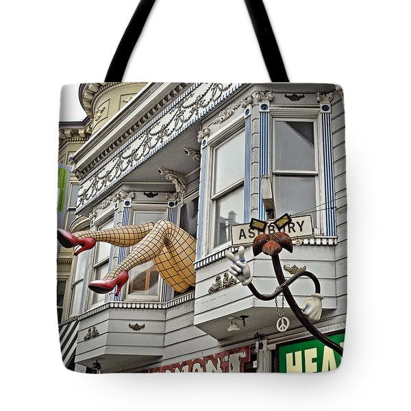 Something To Find Only The In The Haight Ashbury Tote Bag
