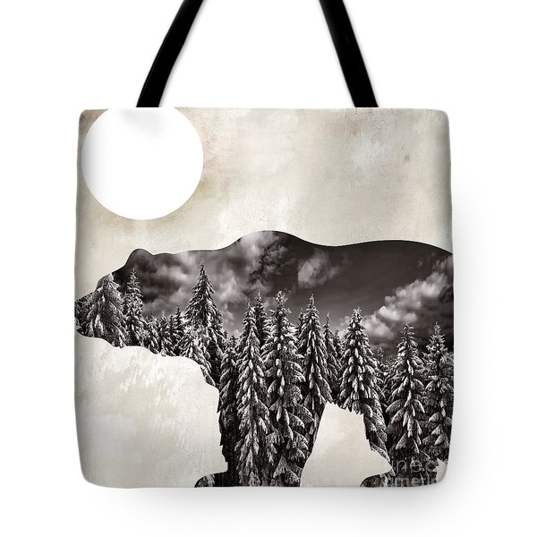 Something Wild Bear Tote Bag