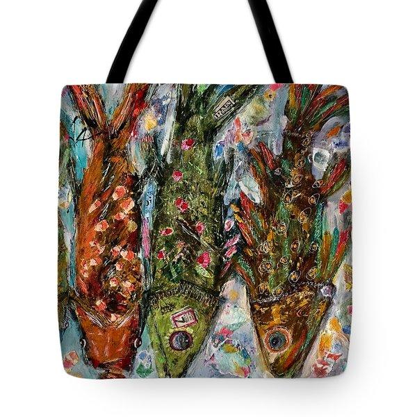 Somethin's Fishy Tote Bag