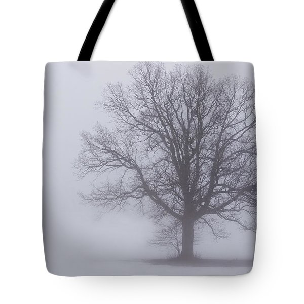 Sometime We Need The Fog Tote Bag by Skip Tribby