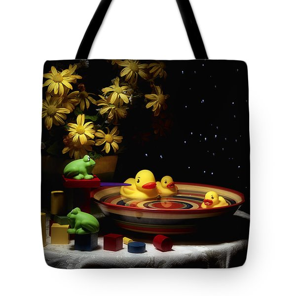 Sometimes Late At Night Tote Bag