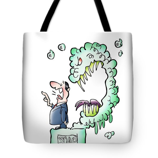 Sometimes Words Eat Us Tote Bag
