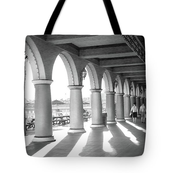 Tote Bag featuring the photograph Sometimes The Party Is Over by Lora Lee Chapman