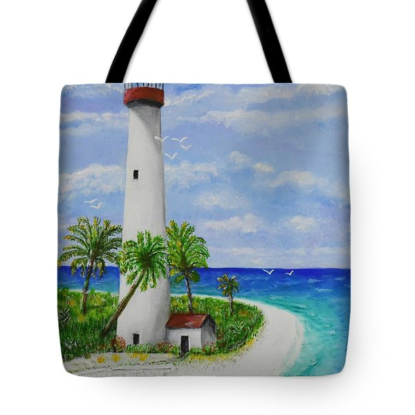 Somewhere Beautiful Tote Bag