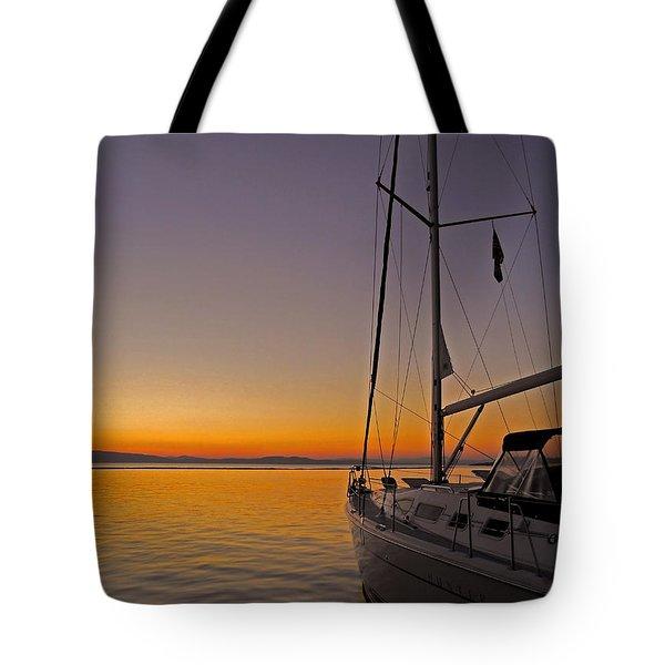 Somewhere Beyond The Sea ... Tote Bag