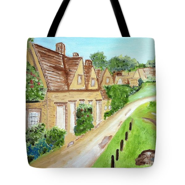 Somewhere In Cotswolds South West England Tote Bag