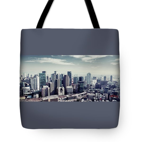 Somewhere In Japan Tote Bag by Joseph Westrupp